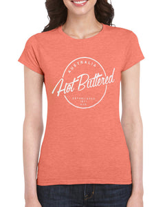 EST 71 Short Sleeve Cotton Tee - Orange