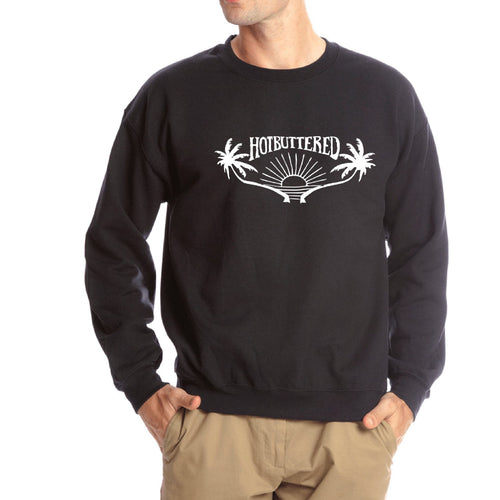 Dawn Patrol Sweatshirt - Black