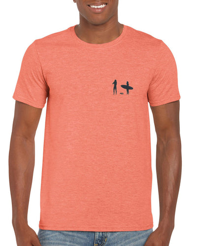 Moongazer Short Sleeve Cotton tee - Orange