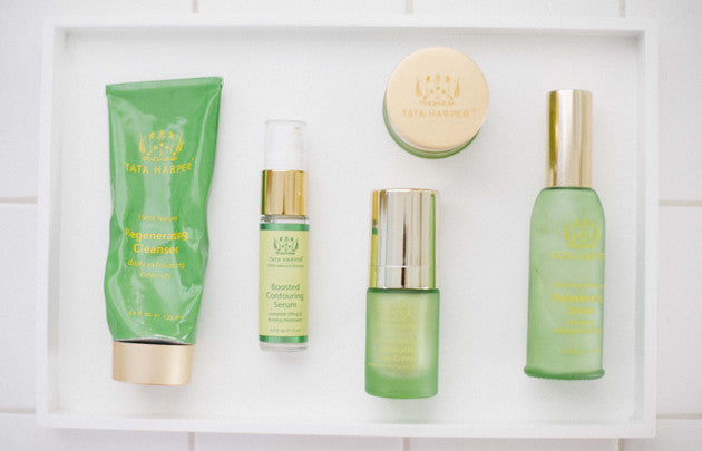 why you should wash face? a little about tata harper cleansers.