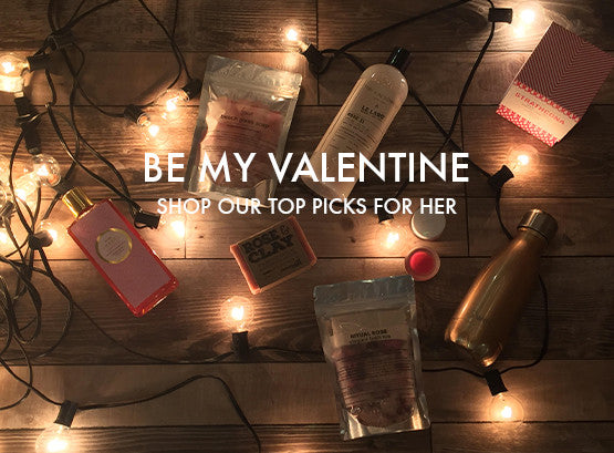 be my valentine. shop our top picks for her.