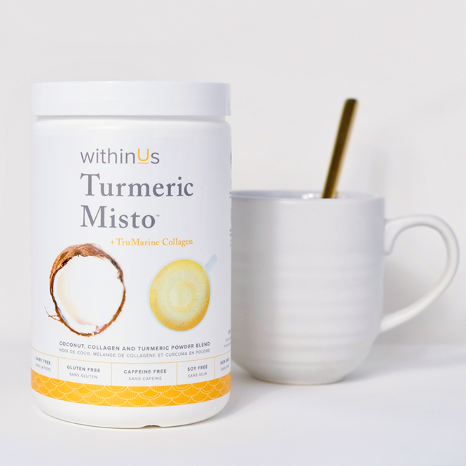 withinUs - turmeric misto - KISS AND MAKEUP