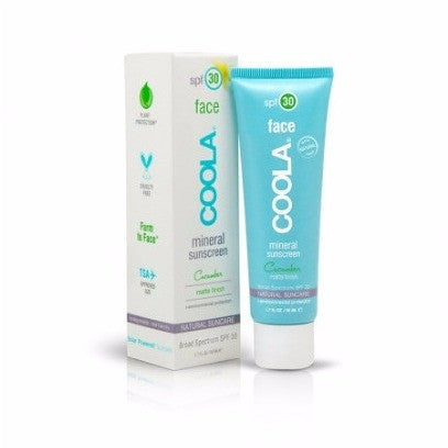 coola | mineral face moisturizer - matte finish SPF 30[product_type ]coola suncare - Kiss and Makeup