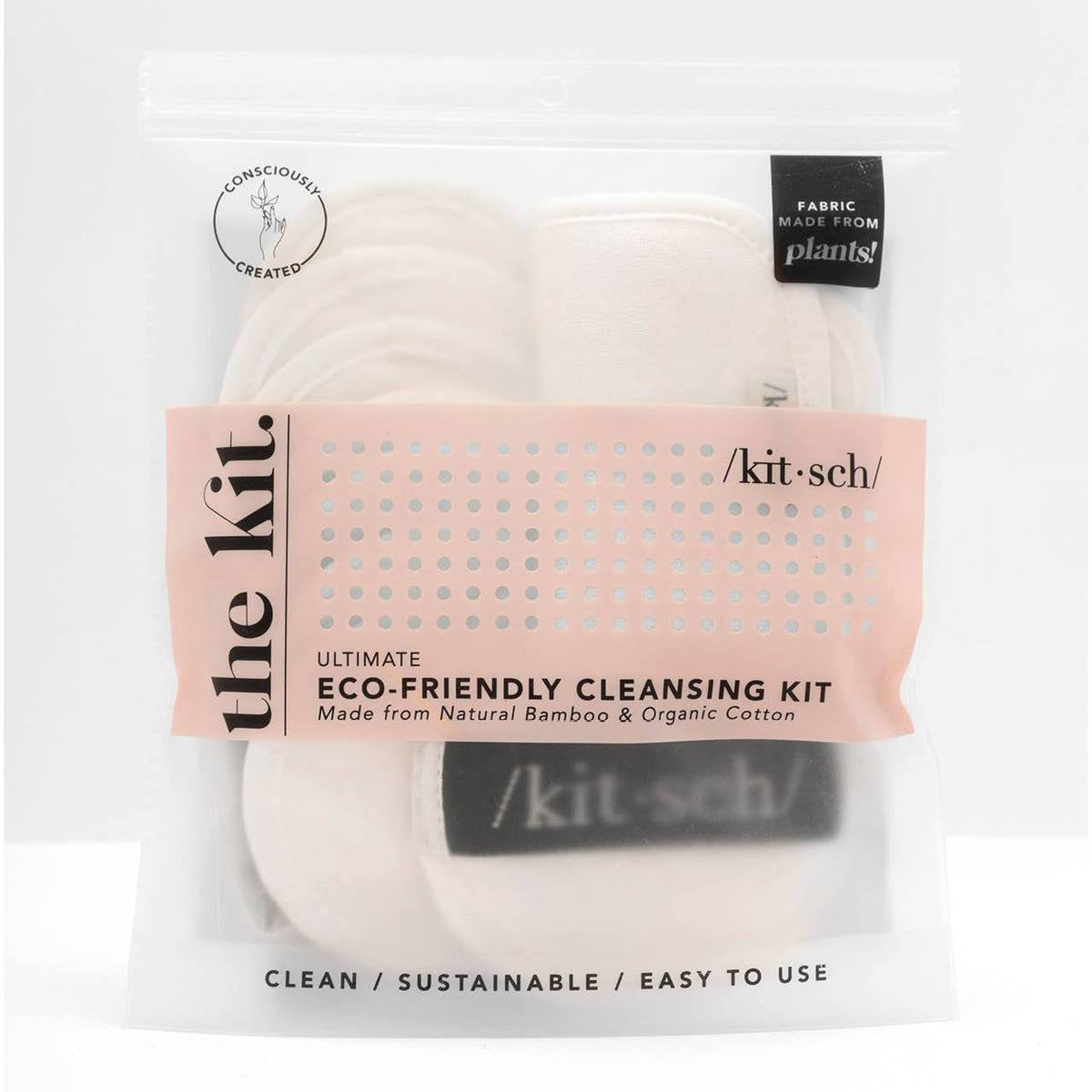 kitsch | eco friendly - ultimate cleansing kit - KISS AND MAKEUP