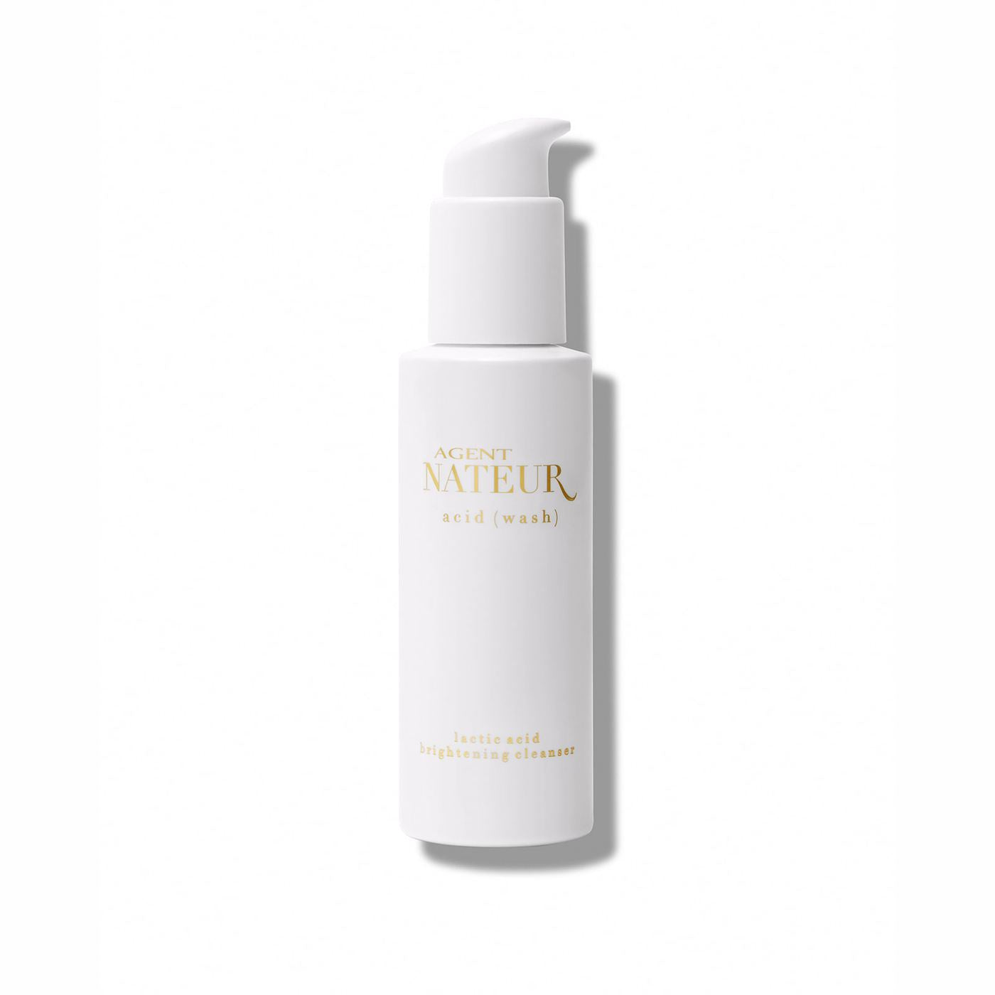 agent nateur | a c i d ( w a s h ) -  lactic acid brightening cleanser[product_type ]agent nateur - Kiss and Makeup