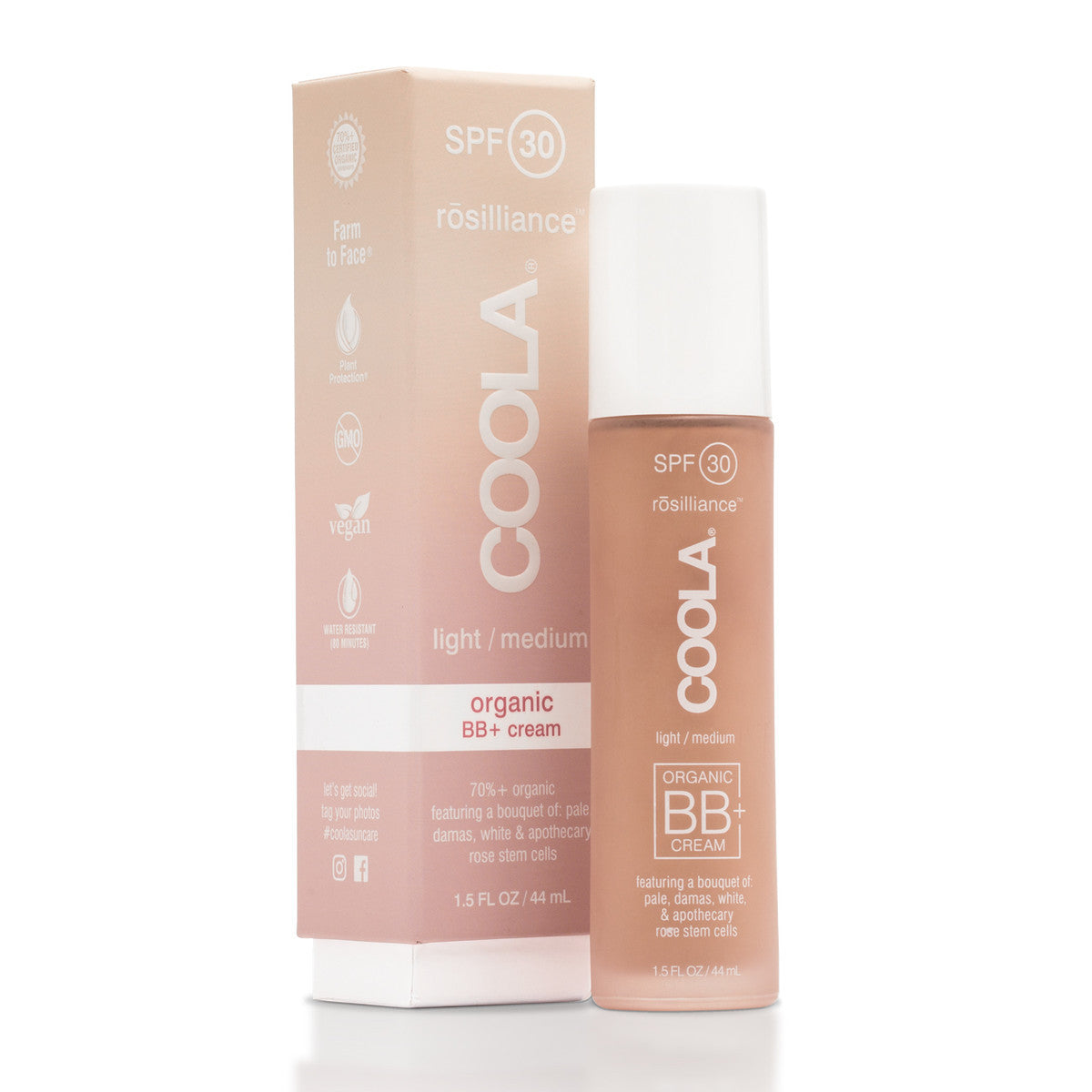 coola - rosilliance organic bb cream spf 30[product_type ]coola suncare - Kiss and Makeup
