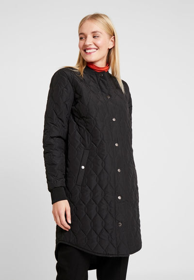 kaffe | shally - quilted coat[product_type ]kaffe - Kiss and Makeup