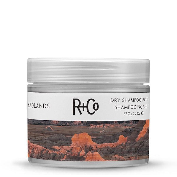 r+co | badlands - dry shampoo paste - KISS AND MAKEUP
