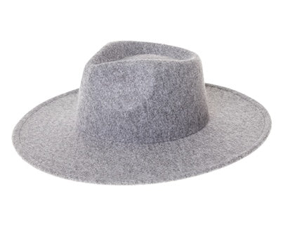 stella maris | felt rancher hat - grey - KISS AND MAKEUP