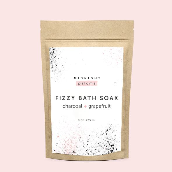 midnight paloma - fizzy bath soak - charcoal[product_type ]midnight paloma - Kiss and Makeup