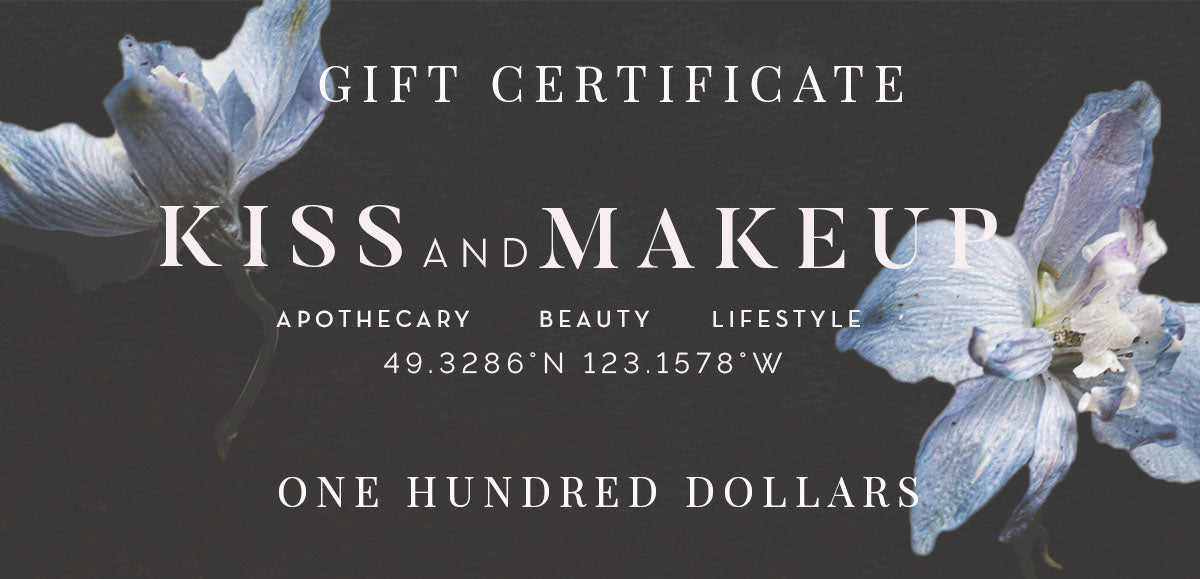 KISS + MAKEUP gift certificate[product_type ]Kiss + Makeup - Kiss and Makeup