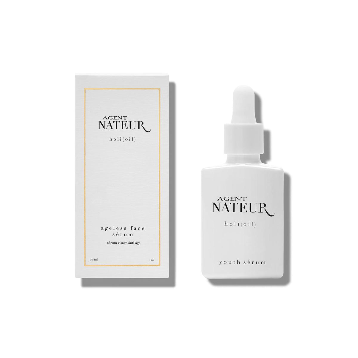 agent nateur | H O L I ( O I L ) refining ageless face serum - KISS AND MAKEUP