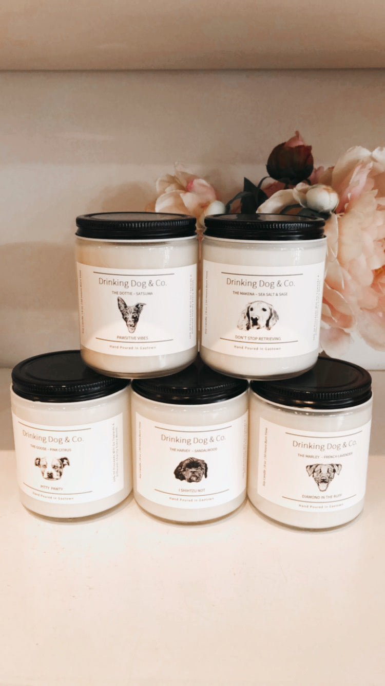 drinking dog & co I candles - KISS AND MAKEUP