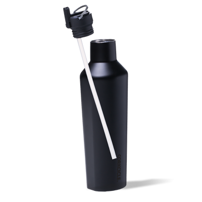 corkcicle | canteen - cap w/ straw - KISS AND MAKEUP