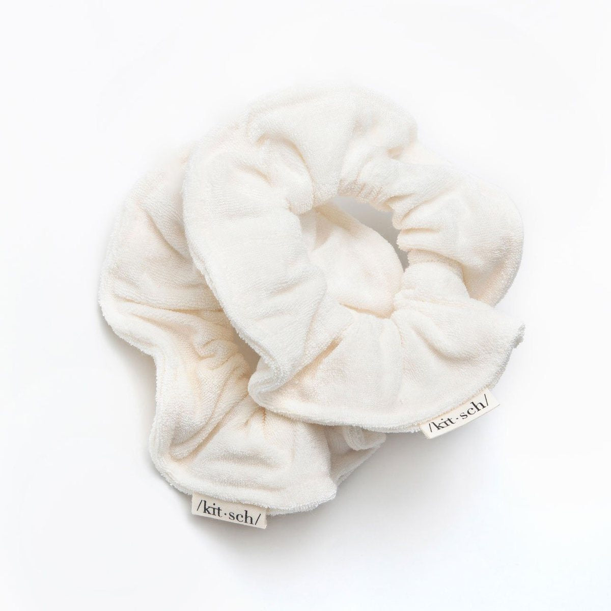 kitsch | towel scrunchies - eco-friendly - KISS AND MAKEUP