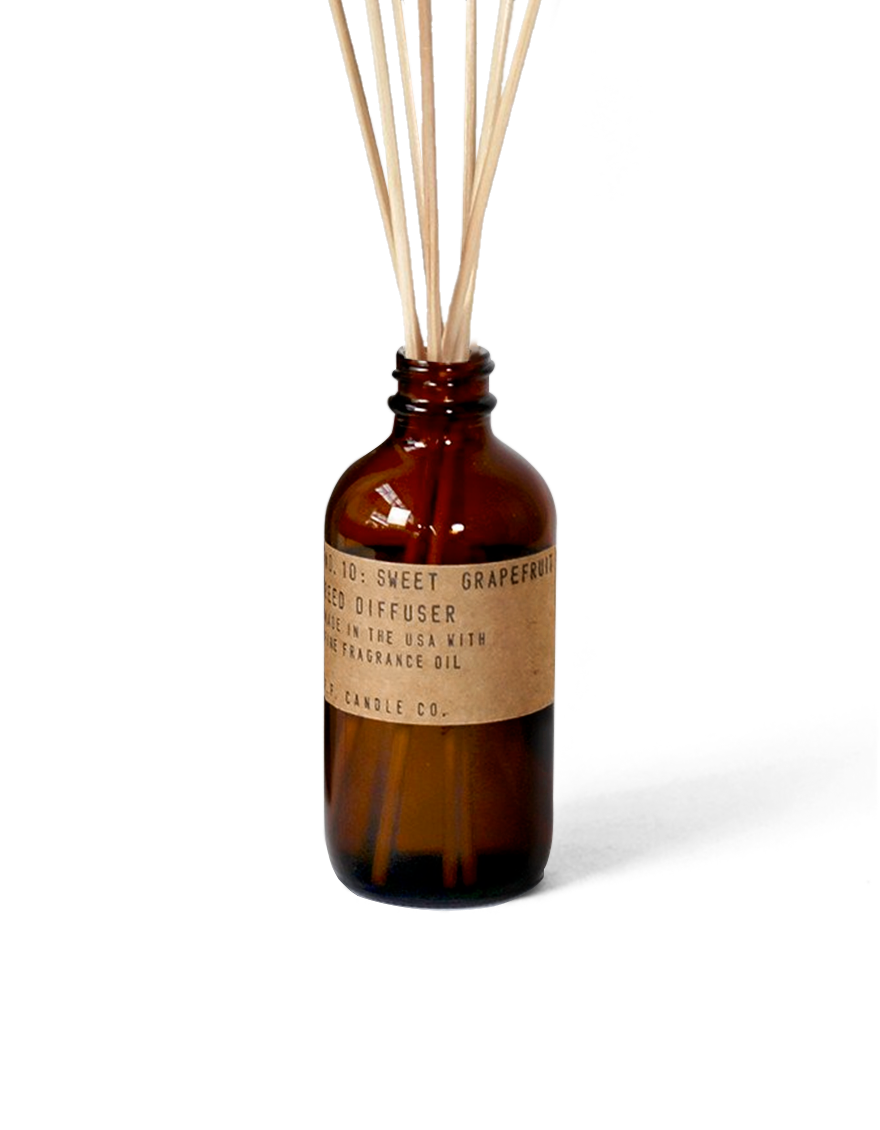 p.f candle co | sweet grapefruit - reed diffuser