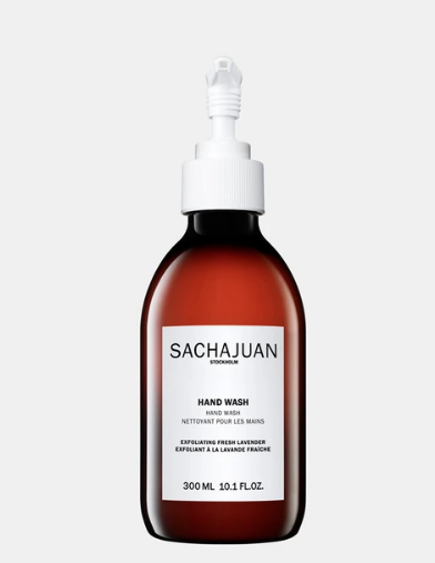 sachajuan I exfoliating lavender hand wash - KISS AND MAKEUP