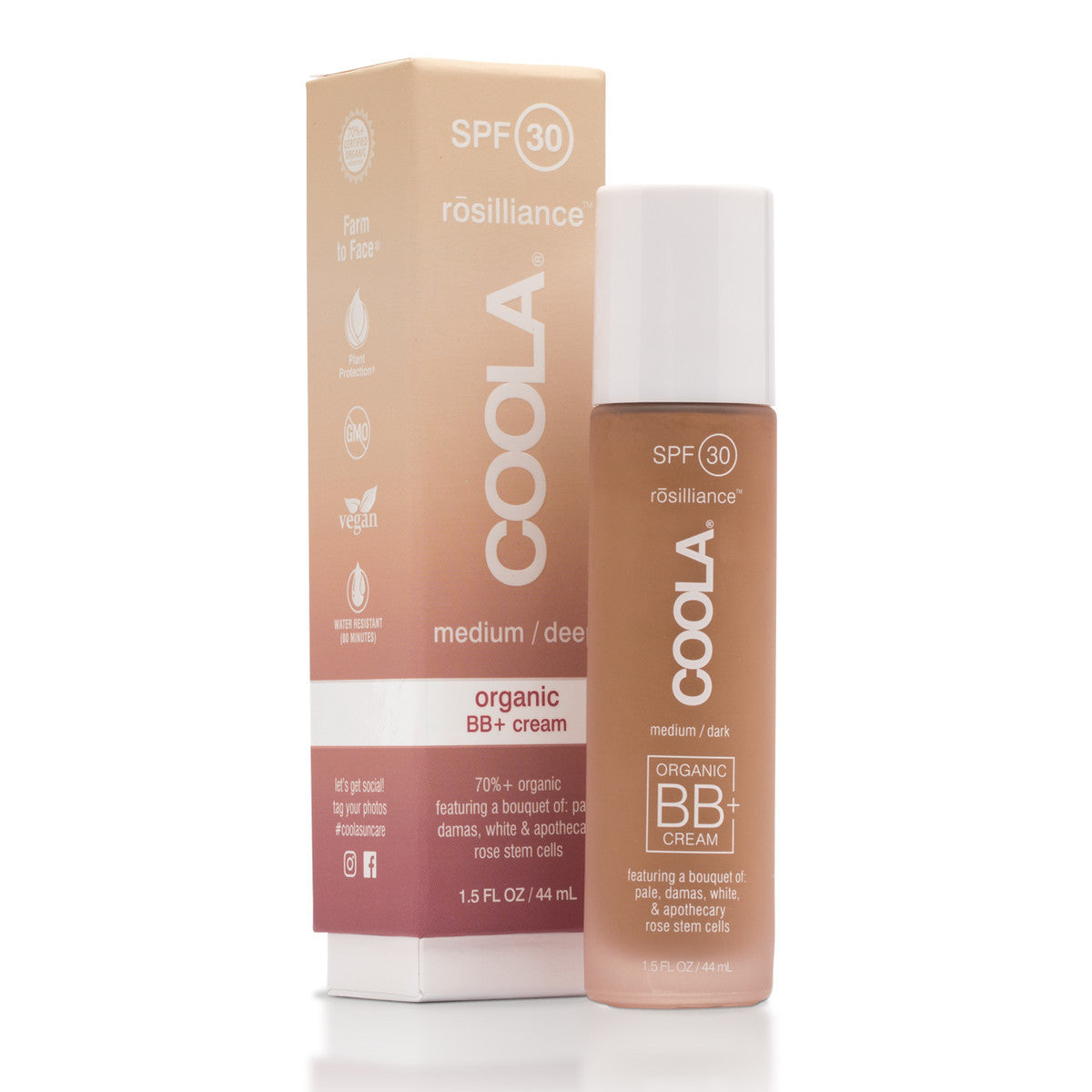 coola | rosilliance mineral face bb cream | organic SPF 30[product_type ]coola suncare - Kiss and Makeup