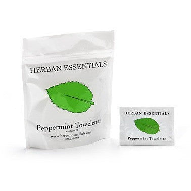 herban essentials - peppermint towelettes[product_type ]herban essentials - Kiss and Makeup