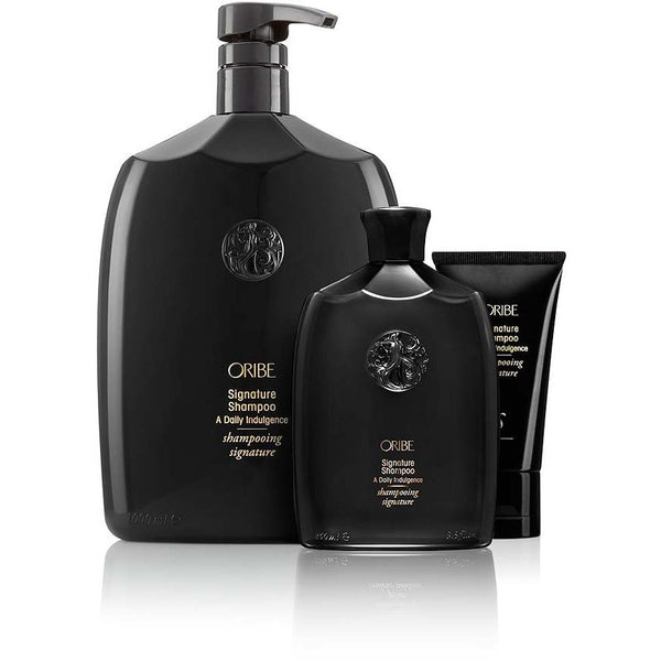 oribe - signature shampoo. group shot