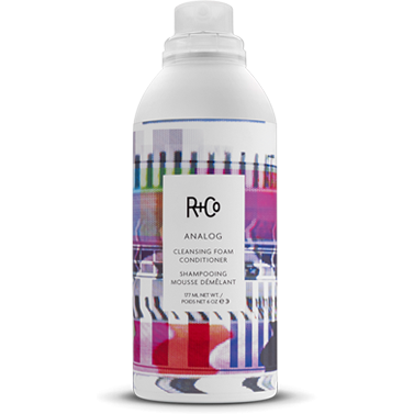 r+co - analog cleansing foam conditioner