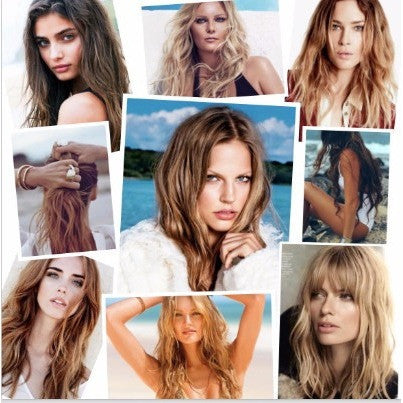 Beach hair inspiration Oribe