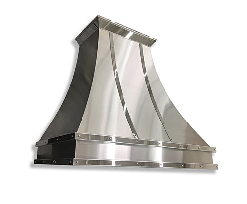 Brushed Stainless Range Hood