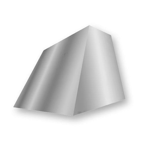 Model E105 Sleek Modern Style Brushed Stainless Steel Range Hood