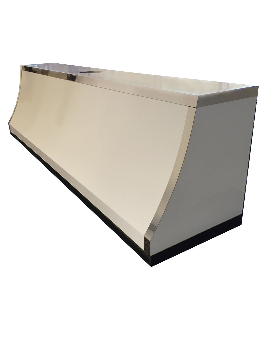 Gloss White Powder Coated Range Hood