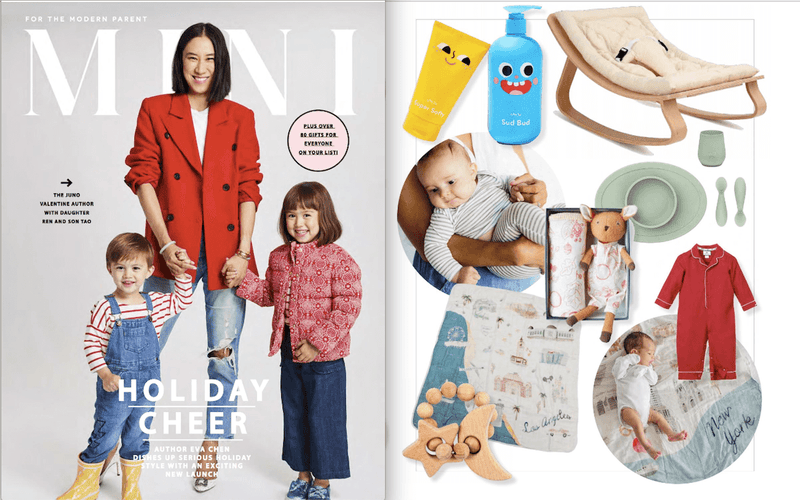 ezpz, the original silicone kids plate, featured in Mini Mag Holiday 2019
