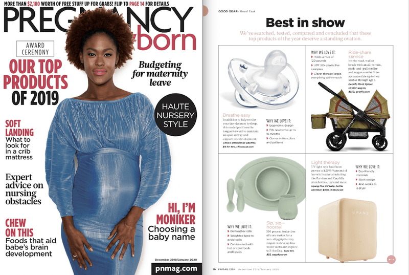ezpz, the original silicone kids plate, featured in P+N Jan 2020