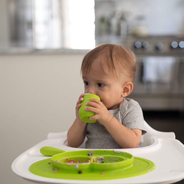 Tiny Cup by ezpz / The Original All-In-One Silicone Plates & Placemats that Stick to the Table