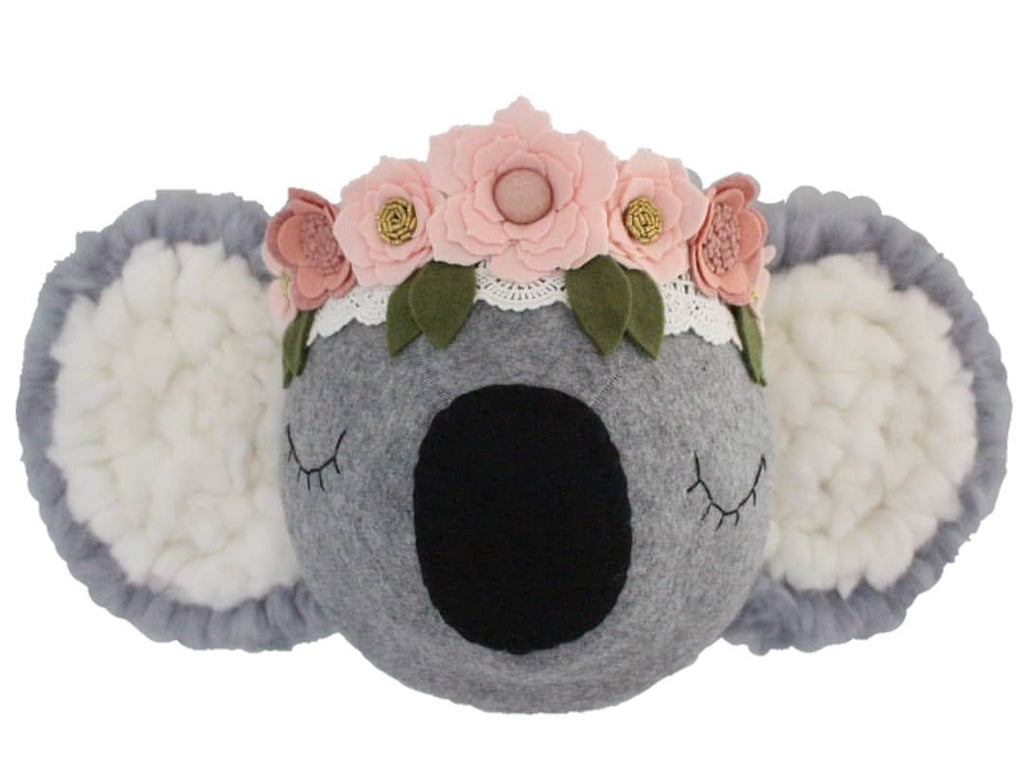 Koala with pink Flower crown