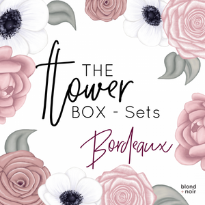 The Flower Box - Bordeaux Box Set