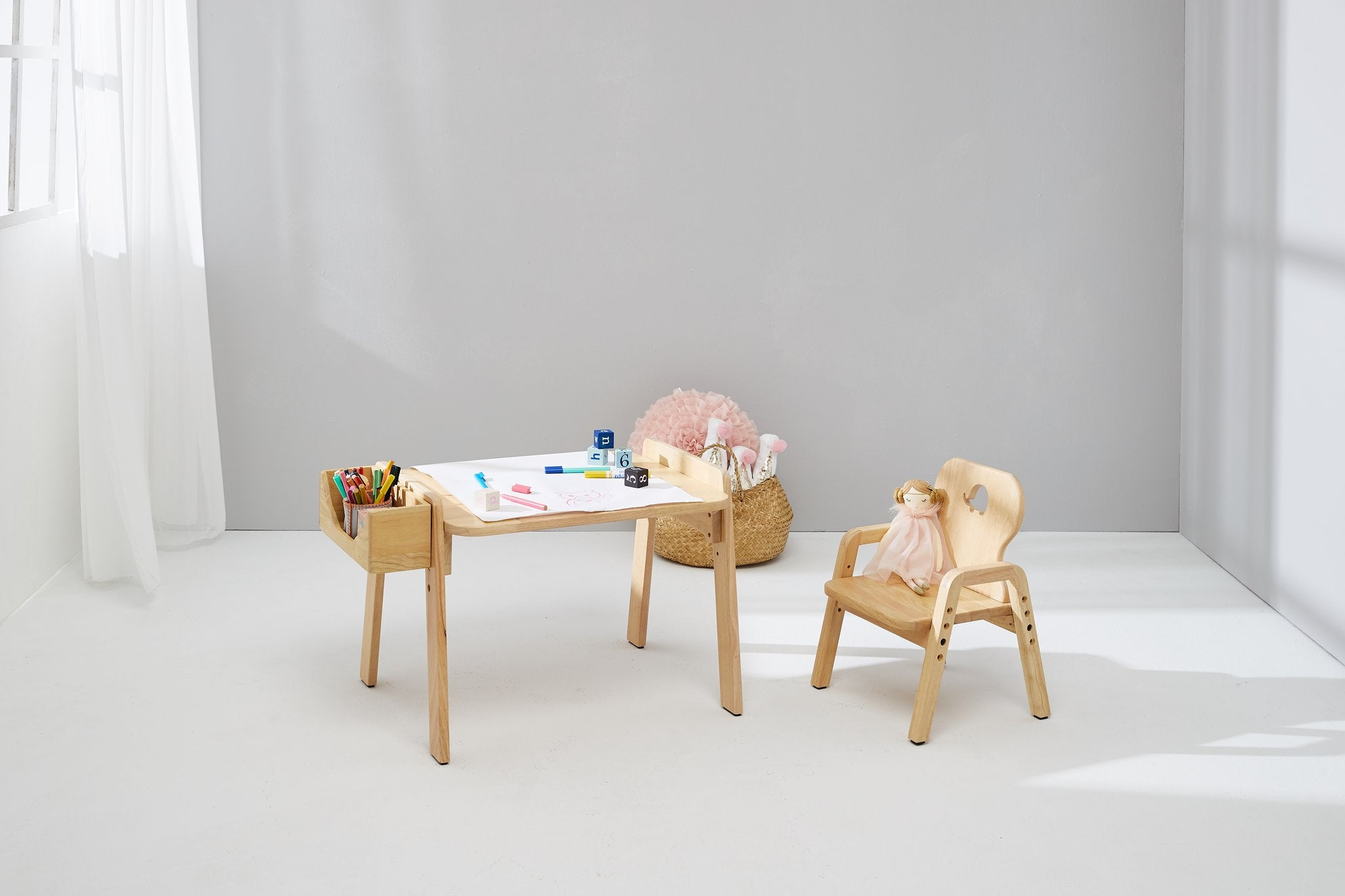 Kids Activity Table and chair set - Australian shipping only
