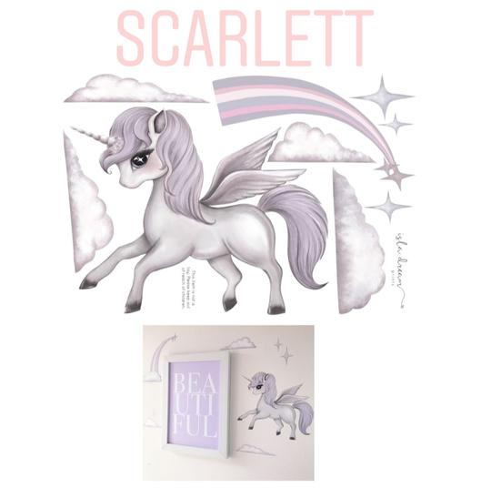 Wall Decals – SCARLETT THE PEGASIS