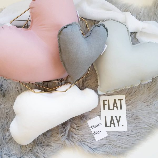 Heart Cushions three pack combo  - 20 Colours to choose save $20