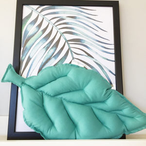 Large Leaf cushion - 20 Colours