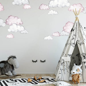 Cloud Wall Decals