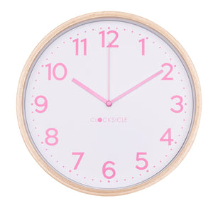 Kids Lolly Pink Clock
