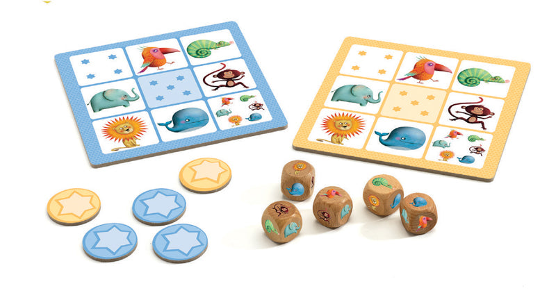 DJECO Yahtzee Yams Junior Game