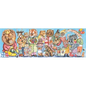 DJECO The Kings Party 100pc Gallery Puzzle