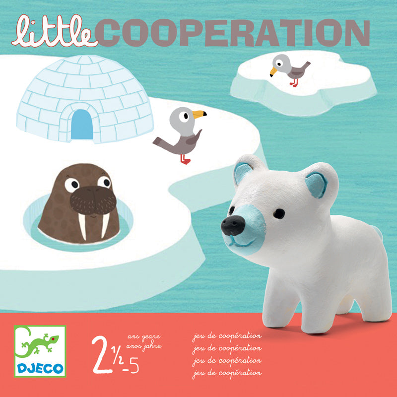 DJECO Little Cooperation game - Age 2.5 plus