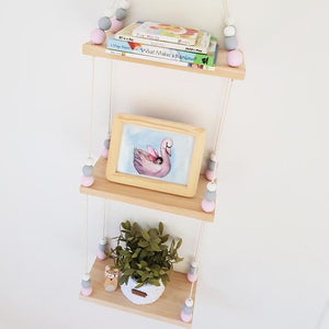 Essentially Raw Triple Swing Shelf - you choose your bead colours