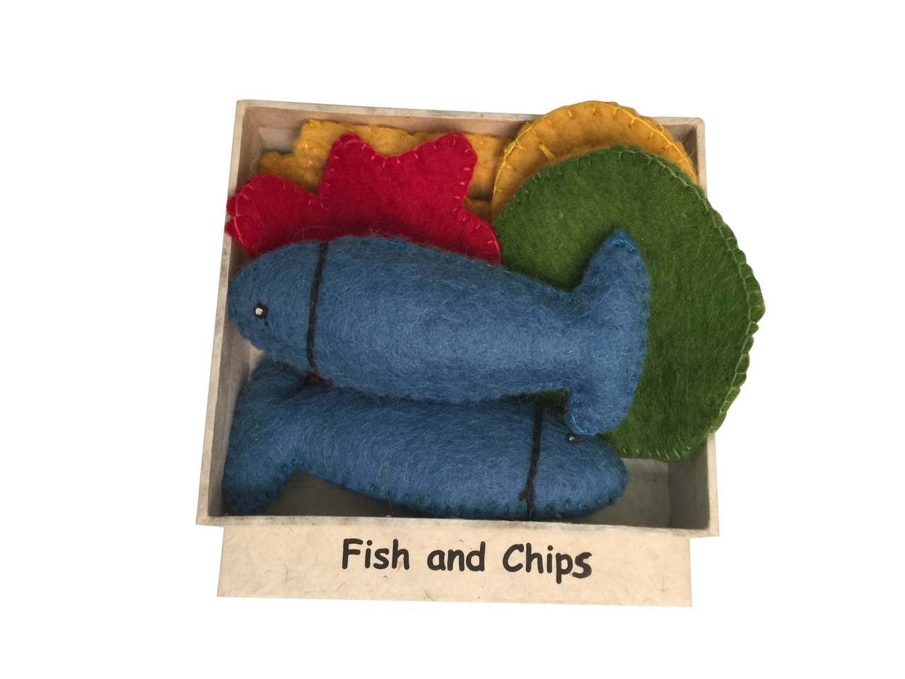 PRE-ORDER Fish and chip set