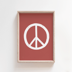 Sixties Peace print - A4, A3, A2