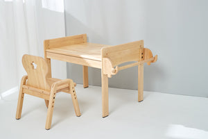 Bunny Tickles - Adjustable Table and Chair Set