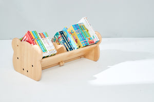 Bunny Tickles 2 in 1 Tabletop Book Rack & Paper Roller Holder PRE ORDER