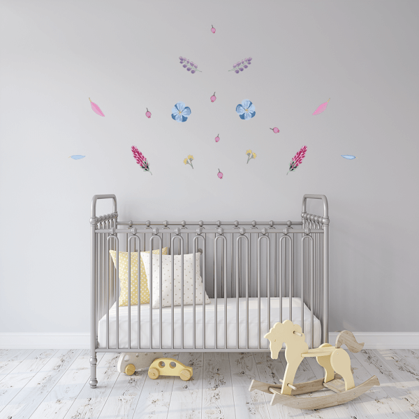 Matilda's Garden Wall Decals