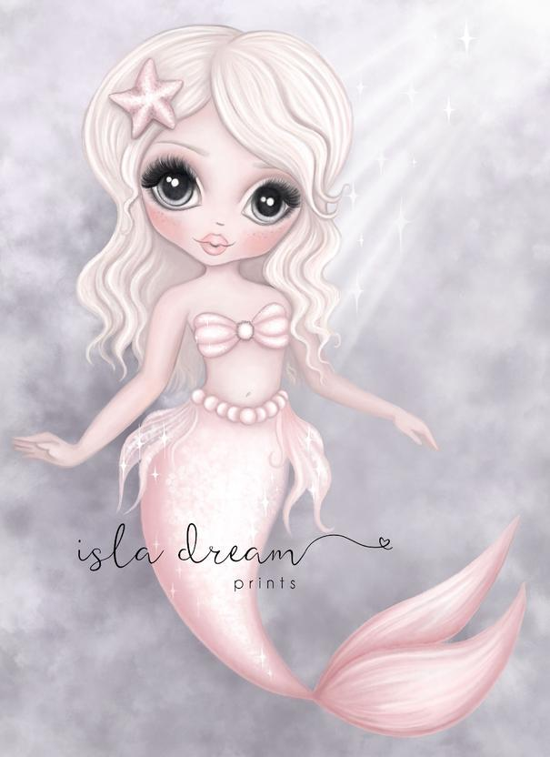 JEWEL- Underwater  Fine Art Mermaid print